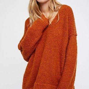 Free People Sweaters - Free People Lofty V Neck Sweater sz M